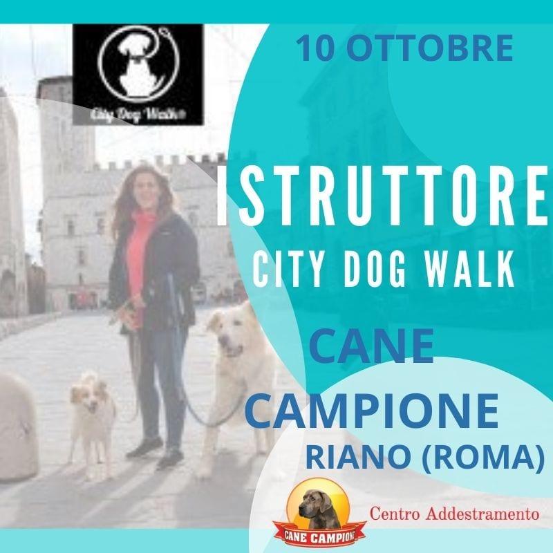Corso Istruttori City Dog Walk - Riano - Roma