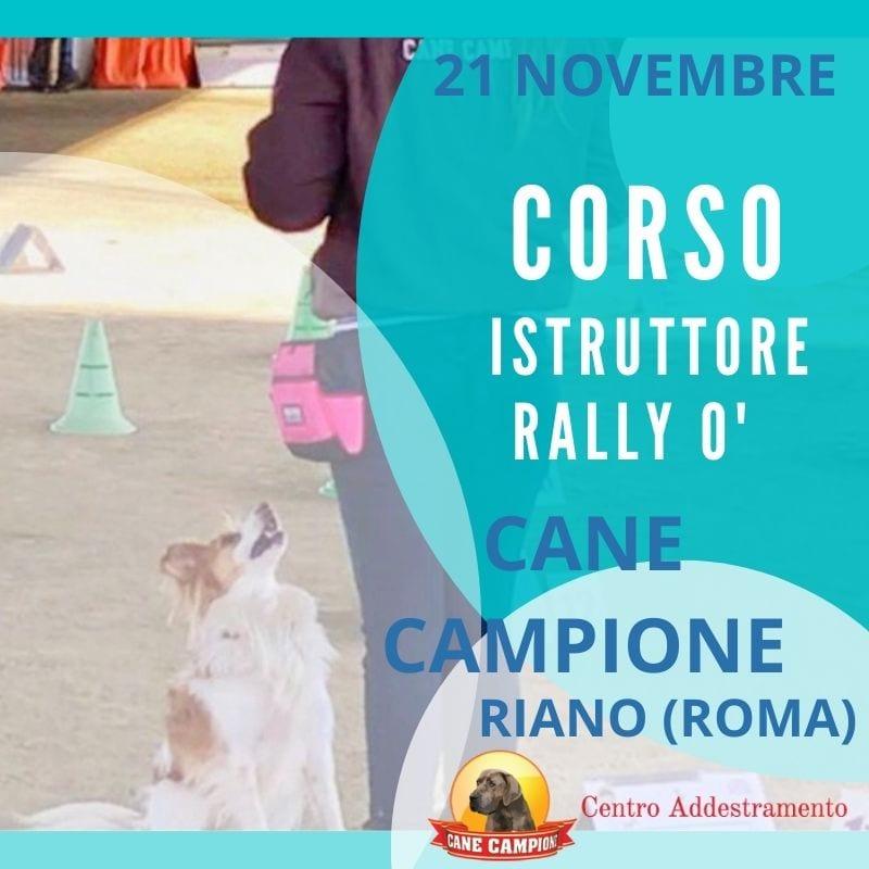 Corso Istruttori Cinofili di Rally Obedience - Riano