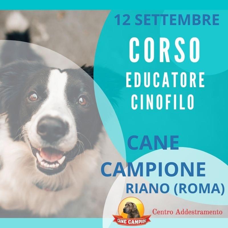 Corso Educatore cinofilo - Cane Campione Riano
