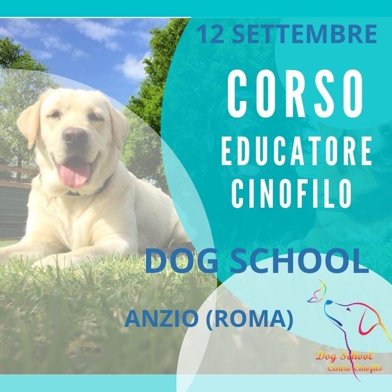 Corso Educatore cinofilo - Dog School Anzio