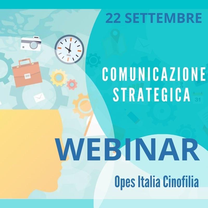 Webinar Comunicazione strategica per Istruttori Cinofili
